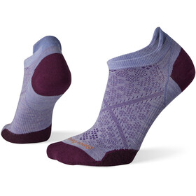 Smartwool PhD Run Ultra Light Micro Socks Women purple mist